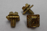 Clamp-Fast terminal screws with washer